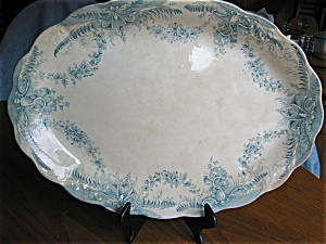 Antique Staffordshire Serving Platter
