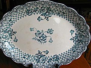 Antique Staffordshire Platter (Image1)