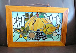 Stained Glass Pumpkin Picture (Image1)