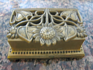 Vintage Brass Stamp Box (Image1)