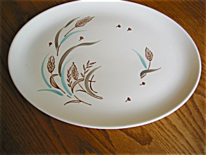 Vintage Stetson China Windflower Platter (Image1)