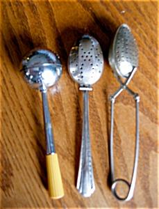 Rare Bakelite Tea Strainer Assortment (Image1)