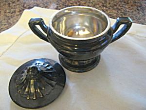 Reed & Barton Soldered Silver Sugar Bowl (Image1)