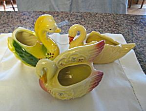 Vintage Swan Planters (Image1)