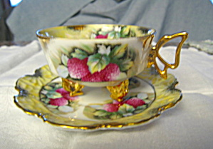 Cabinet Teacup Footed Raspberry (Image1)