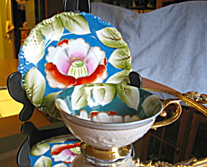 Occupied Japan Water Lily Teacup (Image1)