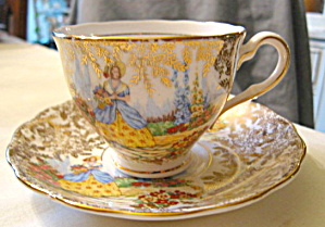 Colclough Crinoline Lady Teacup