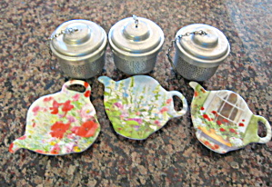 Tea Bag Coasters & Strainers (Image1)
