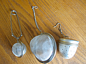 Tea Strainer Assortment