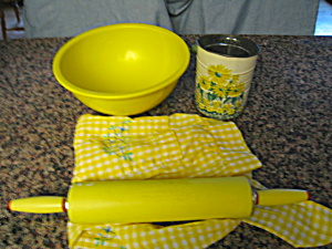 Kitchen Collectibles Assortment Yellow