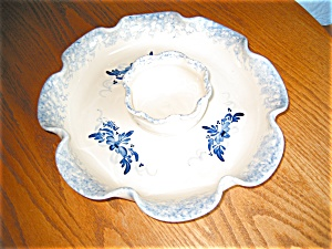 Marshall Pottery Chip And Dip Bowl
