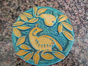Gretchen Kramp Art Pottery Tile