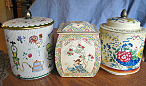 Collectible Decorative Vintage Tins