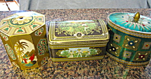 Vintage Tins Green Coloring