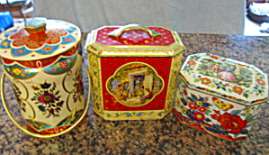 Vintage Red Tin Assortment