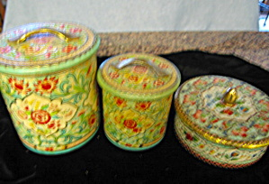 Vintage Tins Collectible