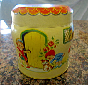 Vintage Tin Thorne's Toffee