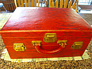 Vintage Leather Toiletry Case Vintage