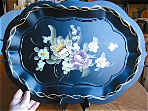 Fine Arts Painted Metal Tray (Image1)