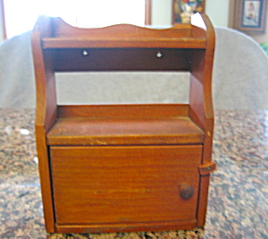 Vintage Wood Doll House Hutch