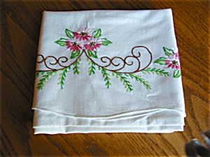 Vintage Embroidered Pillowcases (Image1)