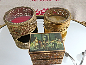 Trinket Box Vintage Trio