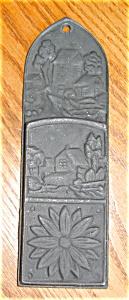 Vintage Cast Iron Match Safe (Image1)