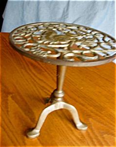 Vintage Brass Trivet Stand (Image1)