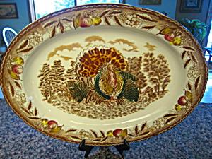 Vintage Turkey Platter (Image1)