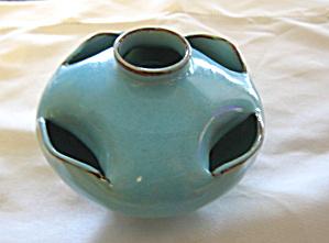 Vintage Turquoise Vase (Image1)