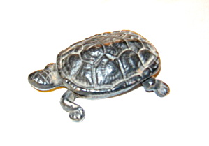 Vintage Iron Turtle Box