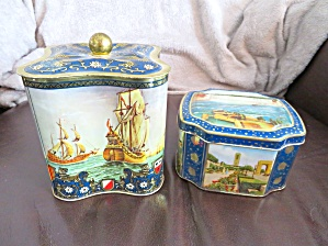 Two Vintage Tins