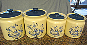 Vintage Usa Cannister Set