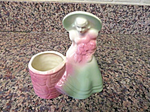 Usa Vintage Lady Planter