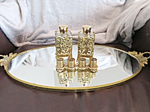 Long Vanity Tray And Accessories