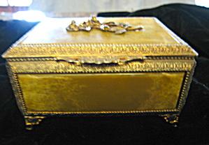 Onyx & Brass Vintage Vanity Box (Image1)