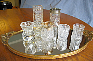 Mirrored Vintage Vanity Tray (Image1)