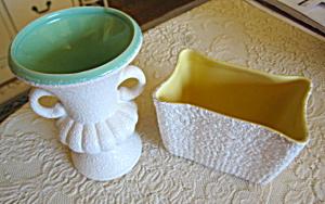 Textured Pottery Vintage Vases (Image1)
