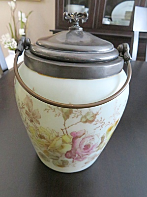 Van Bergh Antique Biscuit Jar