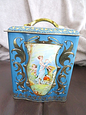 Blue Box Vintage Tin