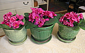 Mccoy & Shawnee Flower Pots