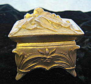 Victorian Footed Small Trinket Box
