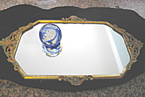 Victorian Mirrored Vanity Tray