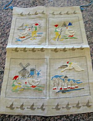 Vintage Needlepoint Textile (Image1)