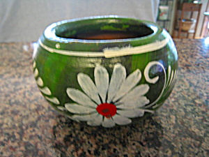 Vintage Mexican Pottery Planter