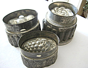 Antique Tin Molds
