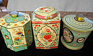 Collectible Vintage Tins Three