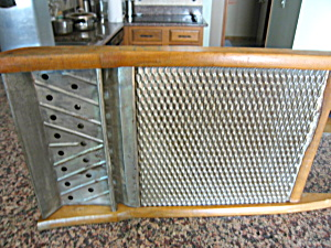 Antique Blue Ribbon Washboard