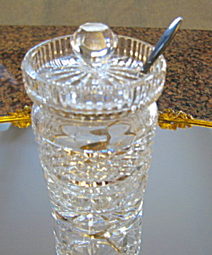 Waterford Crystal Jam Jar