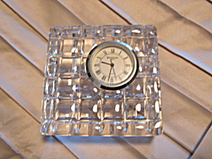 Waterford Crystal Small Quartz Clock